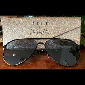 Like New! DIFF Dash Black + Polarized Lens